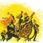 Cie Une chanson tonton - Concerts & Spectacles jeune public - ChapidouWouah ! - Gilles Calza - dessinateur