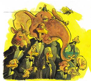 ChapidouWouah ! Le disque de la Cie Une chanson tonton - Concerts & Spectacle jeune public - Illustrations Gilles Calza