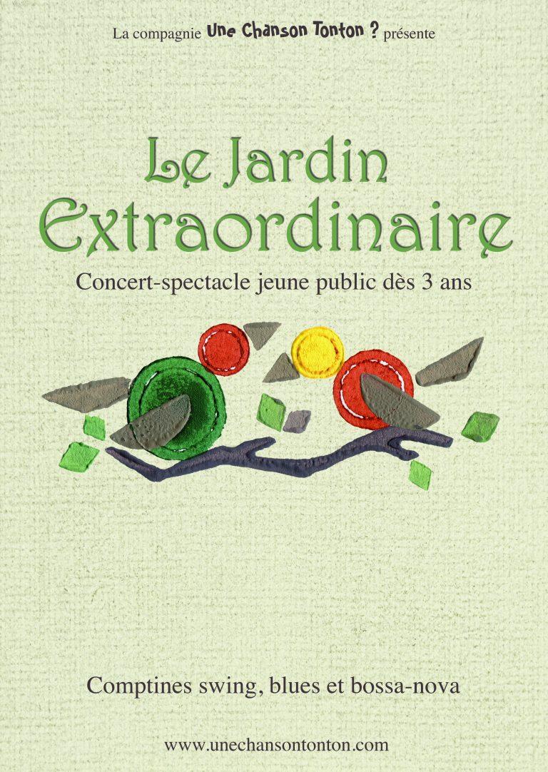Le jardin extraordinaire - Mini-album de la Cie Une chanson tonton - Concerts & Spectacle jeune public